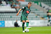 Plymouth Argyle defender Gary Sawyer (3) during the EFL Sky Bet League 2 match between Plymouth Argyle and Luton Town at Home Park, Plymouth, England on 6 August 2016. Photo by Graham Hunt.