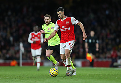 Gabriel Martinelli of Arsenal on the ball - Mandatory by-line: Arron Gent/JMP - 18/01/2020 - FOOTBALL - Emirates Stadium - London, England - Arsenal v Sheffield United - Premier League