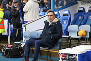 Sheffield Wednesday Manager Carlos Carvalhal during the Sky Bet Championship match between Reading and Sheffield Wednesday at the Madejski Stadium, Reading, England on 23 January 2016. Photo by Phil Duncan.