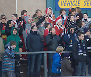 Sabtas in the crowd - Ross County v Dundee - Irn Bru Scottish Football League First Division at Victoria Park, Dingwall..- © David Young - .5 Foundry Place - .Monifieth - .DD5 4BB - .Telephone 07765 252616 - .email; davidyoungphoto@gmail.com - .web; www.davidyoungphoto.co.uk
