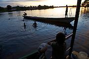 The shipping dock at Puerto Narino - Amazonas - Colombia