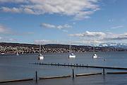 Switzerland, Zurich: walking along the lake