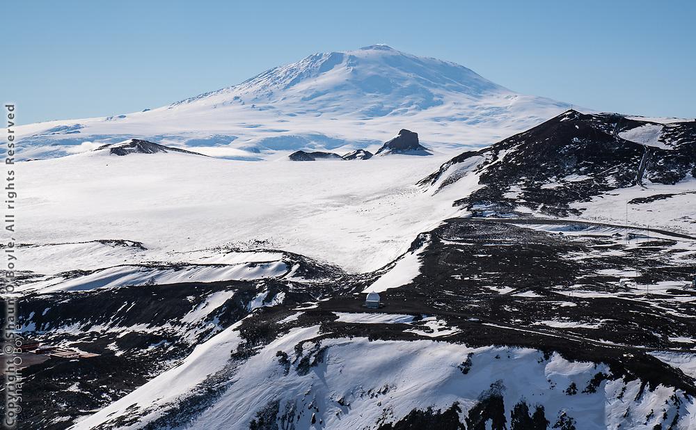 Castle Rock and Mount Erebus