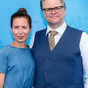 NLD/Amsterdam20160622 - Filmpremiere première van Disney Pixar's Finding Dory, Sandra Mattie en Patrick Stoof