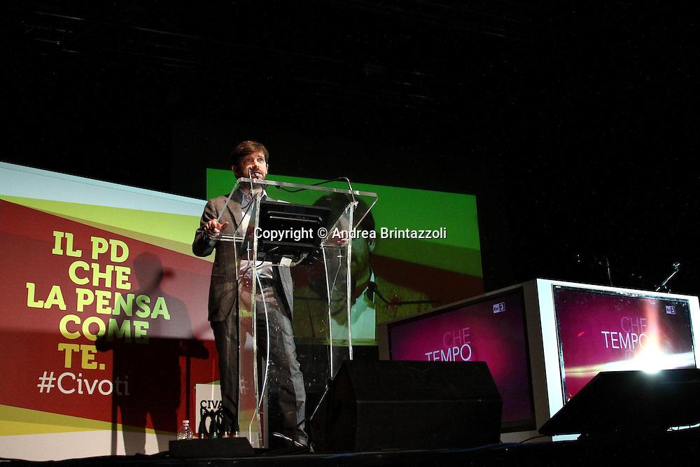 Bologna 01 Dicembre 2013 Il PD la pensa come te #Civati<br /> Nella Foto Pippo Civati