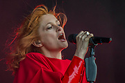 Goldfrapp plays the Obelisk Stage - The 2017 Latitude Festival, Henham Park. Suffolk 14 July 2017