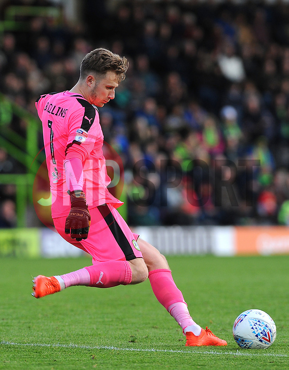 Bradley Collins of Forest Green Rovers in action - Mandatory by-line: Nizaam Jones/JMP - 28/10/2017 - FOOTBALL - New Lawn Stadium - Nailsworth, England - Forest Green Rovers v Morecambe - Sky Bet League Two