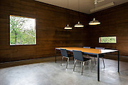 Town Hall Interior. Newbern, Alabama | Architects: Rural Studio | Team - Brett Bowers, David Frazier, Mallory Garrett, Zane Morgan