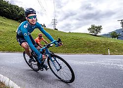 11.07.2019, Kitzbühel, AUT, Ö-Tour, Österreich Radrundfahrt, 5. Etappe, von Bruck an der Glocknerstraße nach Kitzbühel (161,9 km), im Bild Ruben Fernandez (ESP, Movistar Team) // Ruben Fernandez of Spain (Movistar Team) during 5th stage from Bruck an der Glocknerstraße to Kitzbühel (161,9 km) of the 2019 Tour of Austria. Kitzbühel, Austria on 2019/07/11. EXPA Pictures © 2019, PhotoCredit: EXPA/ Reinhard Eisenbauer