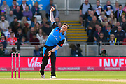 Ed Barnard of Worcestershire bowling during the Vitality T20 Finals Day Semi Final 2018 match between Worcestershire Rapids and Lancashire Lightning at Edgbaston, Birmingham, United Kingdom on 15 September 2018.