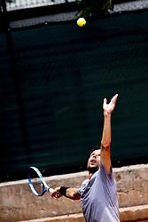 June 16, 2018 - L'Aquila, Italy - Walter Trusendi during match between Corrado Summaria (ITA) and Walter Trusendi (ITA) during day 1 at the Interzionali di Tennis Citt dell'Aquila (ATP Challenger L'Aquila) in L'Aquila, Italy, on June 16, 2018. (Credit Image: © Manuel Romano/NurPhoto via ZUMA Press)