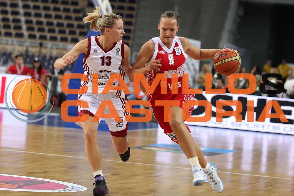 DESCRIZIONE : Lodz Poland Polonia Eurobasket Women 2011 Quarter Final Round Lettonia Russia Latvia Russia<br /> GIOCATORE : Elena Danilochkina<br /> SQUADRA : Russia<br /> EVENTO : Eurobasket Women 2011 Campionati Europei Donne 2011<br /> GARA : Lettonia Russia Latvia Russia<br /> DATA : 29/06/2011<br /> CATEGORIA : <br /> SPORT : Pallacanestro <br /> AUTORE : Agenzia Ciamillo-Castoria/E.Castoria<br /> Galleria : Eurobasket Women 2011<br /> Fotonotizia : Lodz Poland Polonia Eurobasket Women 2011 Quarter Final Round Lettonia Russia Latvia Russia<br /> Predefinita :