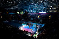 Arena Zlatorog during Velux EHL Champions league 2010/2011 Group A men handball match between HC Celje Pivovarna Lasko of Slovenia and Rhein-Neckar Loewen of Germany, on October 2, 2010 in Arena Zlatorog, Celje, Slovenia. (Photo By Vid Ponikvar / Sportida.com)