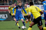(L-R) *Damian van Bruggen* of VVV Venlo, *Fredrik Midtsjo* of AZ Alkmaar