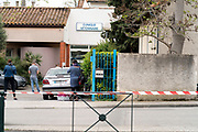waiting at the veterinary during Covid 19 crisis France Limoux April 2020
