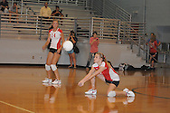 Lafayette High vs. Senatobia in girls high school volleyball action Oxford, Miss. on Thursday, September 2, 2011. Lafayette High won 3-2....