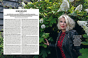 Kim Wilde for Weekend Knack Magazine, Belgium 2017