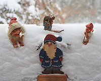 Trolls Playing in the Snow. Winter in New Jersey. Image taken with a Nikon Df camera and 58 mm f/1.4G lens (ISO 2200, 58 mm, f/8, 1/250 sec). Raw image processed with Capture One Pro 7.