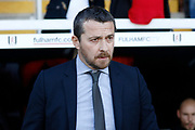 Fulham First Team Head Coach Slavisa Jokanovic during the EFL Sky Bet Championship match between Fulham and Aston Villa at Craven Cottage, London, England on 17 February 2018. Picture by Andy Walter.