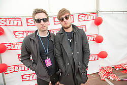 The Phantoms in the Sun signing stage. Sunday at Party at the Palace 2017, Linlithgow.
