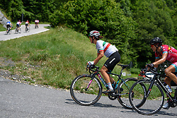 Elena Cecchini (CANYON//SRAM Racing) through the hairpins at Giro Rosa 2016 - Stage 6. A 118.6 km road race from Andora to Alassio, Italy on July 7th 2016.