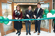 The ribbon is cut at the gran re-opening of the Allen Student Help Center. © Ohio University / Photo by Olivia Wallace