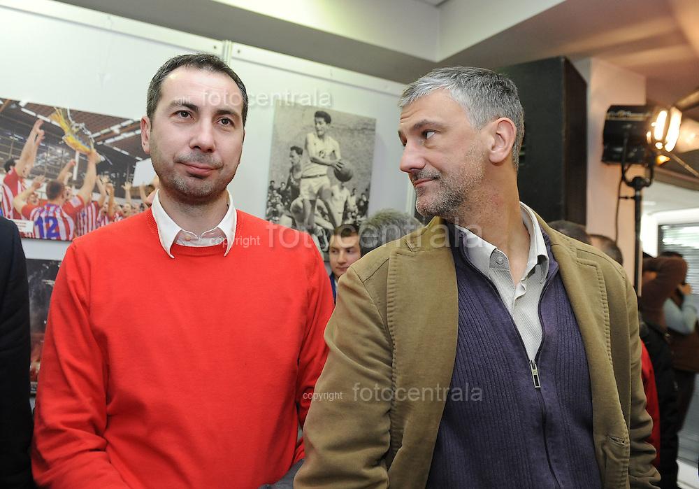 OSTALO, BEOGRAD, 04. Mar. 2015. - Zlatko Bolic i Vladimir Kuzmanovic. Proslava 70. rodjendana SD Crvena zvezda.  Foto: Nenad Negovanovic