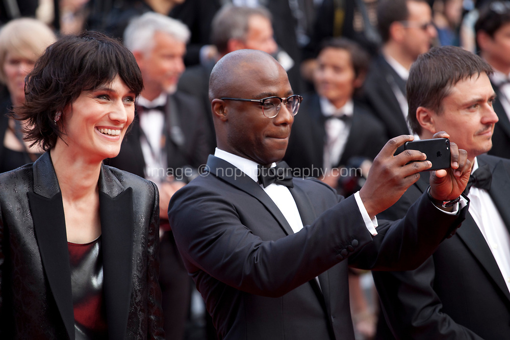 Actress Clotilde Hesme, Barry Jenkins at Twin Peaks gala screening at the 70th Cannes Film Festival Thursday 25th May 2017, Cannes, France. Photo credit: Doreen Kennedy