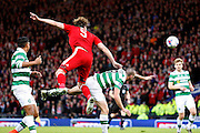 Aberdeen's  Ash Taylor (5) and Celtic's Scott Brown (8) during the Betfred Scottish Cup  Final match between Aberdeen and Celtic at Hampden Park, Glasgow, United Kingdom on 27 November 2016. Photo by Craig Galloway.