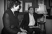 Stephen Frears,  Charles Finch and Chanel 7th Anniversary Pre-Bafta party to celebratew A Great Year of Film and Fashiont at Annabel's. Berkeley Sq. London W1. 10 February 2007. -DO NOT ARCHIVE-© Copyright Photograph by Dafydd Jones. 248 Clapham Rd. London SW9 0PZ. Tel 0207 820 0771. www.dafjones.com.