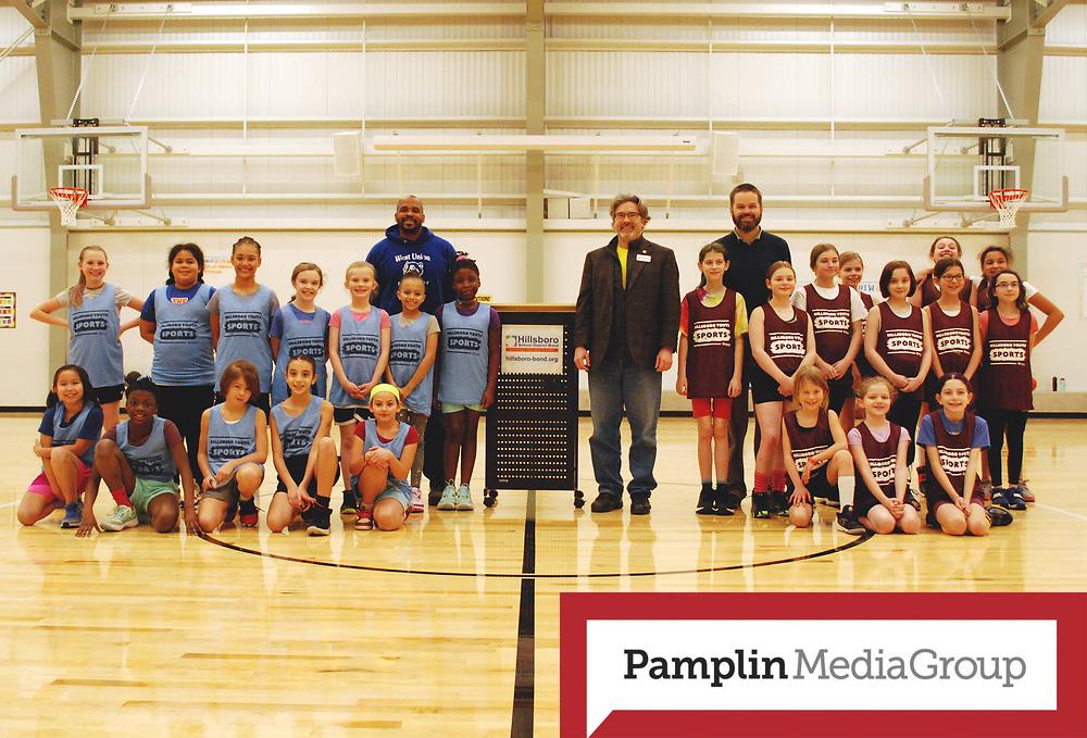 Hillsboro Parks & Rec held a basketball game at Eastwood Elementary School in Hillsboro, Ore., on Tuesday, Feb. 4, 2020. Photo: Hillsboro School District