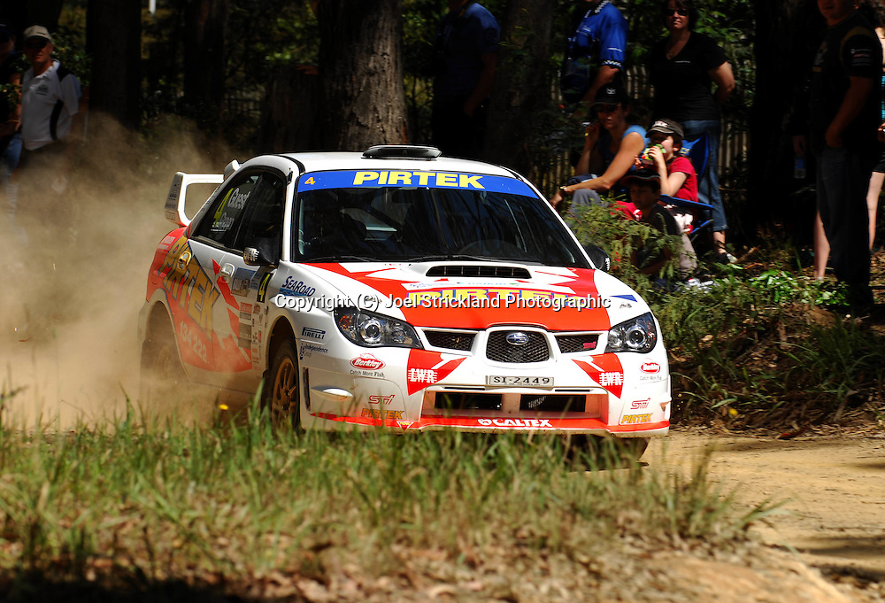 Michael Guest & David Green.Motorsport-Rally/2008 Coffs Coast Rally.Heat 1.Coffs Harbour, NSW.15th of November 2008.(C) Joel Strickland Photographics
