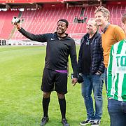 NLD/Amsterdam/20180503- Coen en Sander Live vanuit Johan Cruijff Arena, Edwin van der Sar en Frank de Boer, John Williams