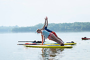 Promotional material for Nashville Paddle Company shot at Percy Priest Lake in Nashville, TN