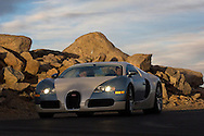 Bugatti Veyron 16.4 on Mt Evans Scenic Highway, Colorado