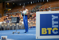 Alen Dimic of Slovenia at Horizontal Bar during Qualifications of Artistic Gymnastics FIG World Challenge Koper 2018, on June 1, 2017 in Arena Bonifika, Koper, Slovenia. Photo by Matic Klansek Velej/ Sportida