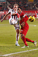 Onderwerp/Subject: FC Twente - Willem II - Eredivisie<br /> Reklame:  <br /> Club/Team/Country: <br /> Seizoen/Season: 2012/2013<br /> FOTO/PHOTO: Leroy FER (R) of FC Twente in duel with Niek VOSSEBELT (L) of Willem II. (Photo by PICS UNITED)<br /> <br /> Trefwoorden/Keywords: <br /> #04 $94 ±1355229149625<br /> Photo- & Copyrights © PICS UNITED <br /> P.O. Box 7164 - 5605 BE  EINDHOVEN (THE NETHERLANDS) <br /> Phone +31 (0)40 296 28 00 <br /> Fax +31 (0) 40 248 47 43 <br /> http://www.pics-united.com <br /> e-mail : sales@pics-united.com (If you would like to raise any issues regarding any aspects of products / service of PICS UNITED) or <br /> e-mail : sales@pics-united.com   <br /> <br /> ATTENTIE: <br /> Publicatie ook bij aanbieding door derden is slechts toegestaan na verkregen toestemming van Pics United. <br /> VOLLEDIGE NAAMSVERMELDING IS VERPLICHT! (© PICS UNITED/Naam Fotograaf, zie veld 4 van de bestandsinfo 'credits') <br /> ATTENTION:  <br /> © Pics United. Reproduction/publication of this photo by any parties is only permitted after authorisation is sought and obtained from  PICS UNITED- THE NETHERLANDS