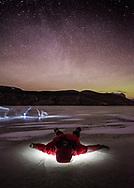 Srarry night around Jasper, Alberta, Canada, Isobel Springett