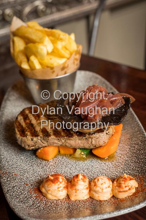 14-6-17<br /> <br /> Summerhill Farm steak at Kernel on Vicar Street in Kilkenny.<br /> Picture Dylan Vaughan.