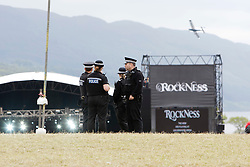 Main stage before the crowds, Sunday at Rockness 2012..©Michael Schofield..