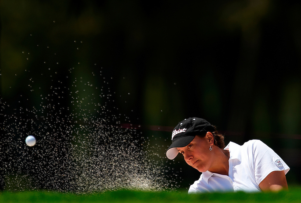 DENIA, SPAIN - APRIL 14:  Caroline Rominger of Switzerland during the European Nations Cup in La Sella Golf Resort on April 14, 2011 in Denia, Spain. (Photo by Xaume Olleros/SSP)