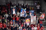 Tifosi <br /> Openjobmetis Varese - Carpegna Prosciutto Basket Pesaro<br /> Basket Serie A LBA 2019/2020<br /> Varese 15 December 2019<br /> Foto Mattia Ozbot / Ciamillo-Castoria