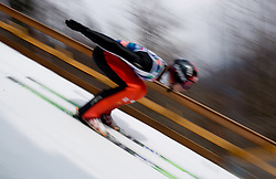 KRANJEC Robert, SK Triglav Kranj, SLO  competes during Flying Hill Team Trial Round at 4th day of FIS Ski Flying World Championships Planica 2010, on March 21, 2010, Planica, Slovenia.  (Photo by Vid Ponikvar / Sportida)