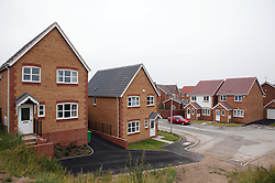 Completed new housing development on Field Maple Drive; off Bobbers Mill Road; Nottingham,