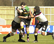 02/03/2003.Sport - 2003 Powergen Cup Semi- final - London Irish v Northampton Saints.Paul Grayson.