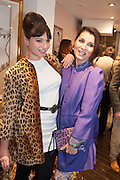 GIZZI ERSKINE; GRACE WOODWARD, Maison Triumph launch to celebrate the beginning of London fashion week. Monmouth St. 14 February 2013.