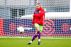 Loren Dykes of Bristol City prior to kick off - Mandatory by-line: Ryan Hiscott/JMP - 14/10/2018 - FOOTBALL - Stoke Gifford Stadium - Bristol, England - Bristol City Women v Birmingham City Women - FA Women's Super League 1