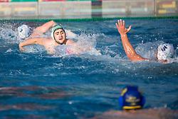 of VKL Ljubljana Slovan during water polo match between VKL Ljubljana Slovan and AVK Triglav Kranj in 3rd Round of Final of Slovenian Water polo National Championship, on June 16, 2018 in Kodeljevo, Ljubljana, Slovenia. Photo by Urban Urbanc / Sportida