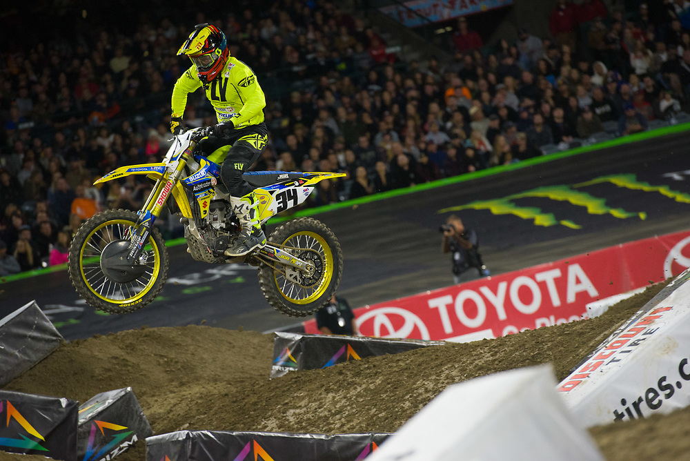 2018 AMA Supercross Series<br /> Angel Stadium of Anaheim<br /> Anaheim, California<br /> January 6, 2018