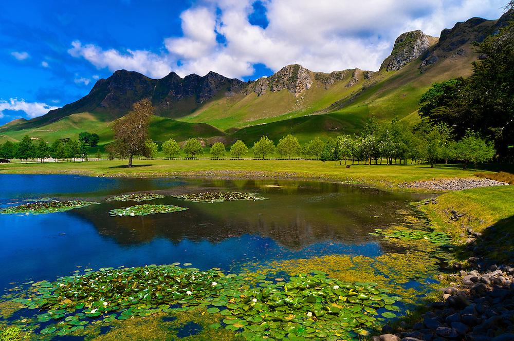 Te Mata Peak from the Craggy Range Winery, Havelock North, Hawkes Bay, North Island, New Zealand